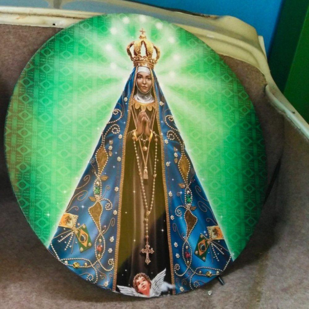 Nossa Senhora Aparecida - Placa