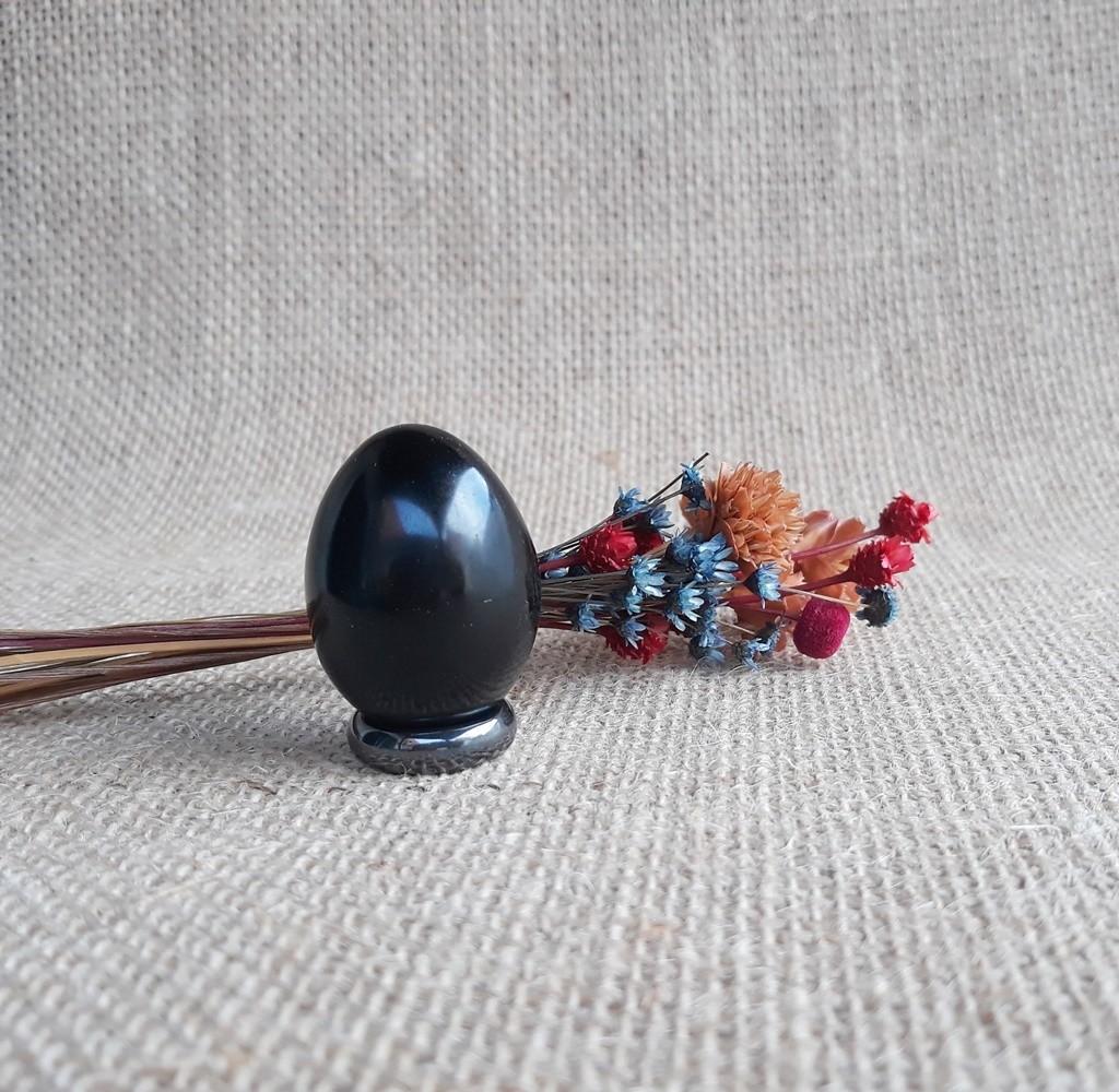 Obsidiana Egg /  Yoni Egg /  Unidade