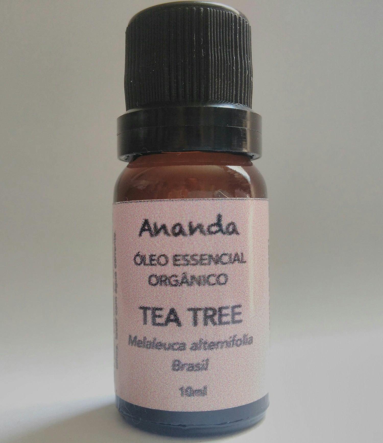 Óleo Essencial de Tea Tree (Melaleuca) orgânico 10ml