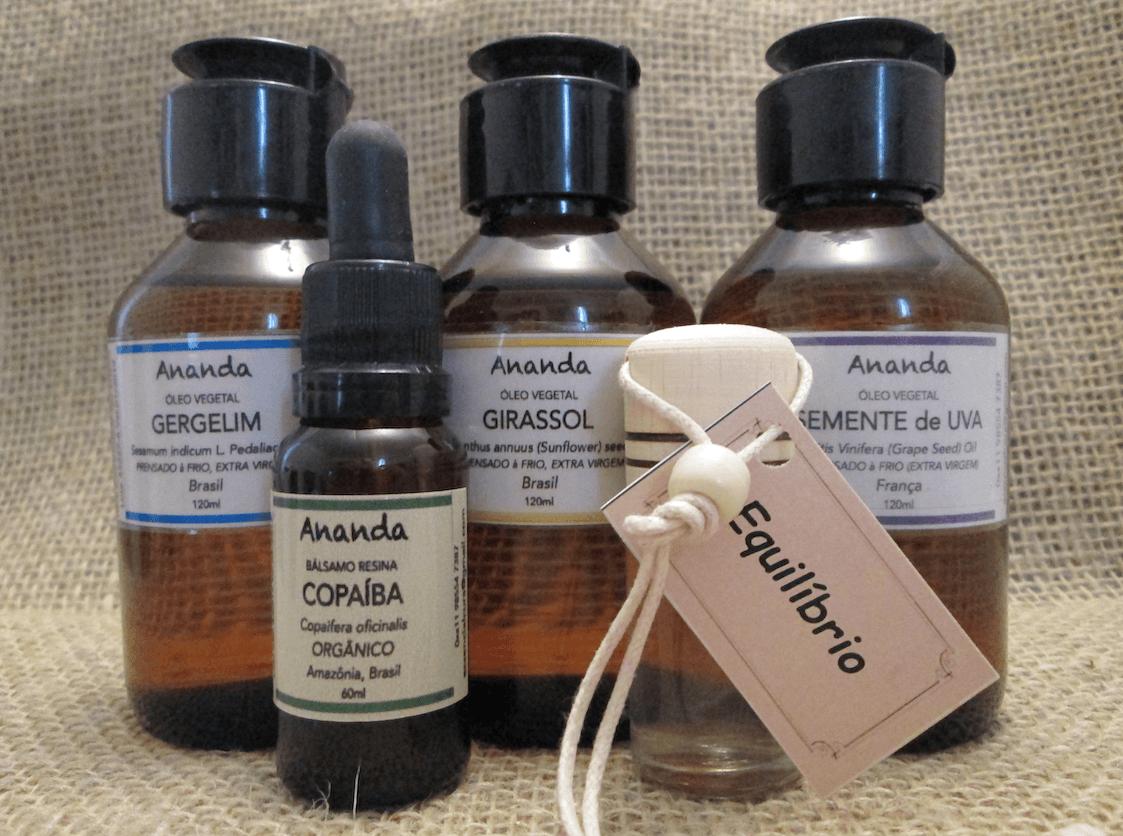 Óleo resina, bálsamo, de Copaiba orgânico