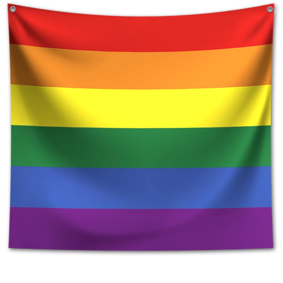 Panô Decorativo Bandeira LGBT - Banner