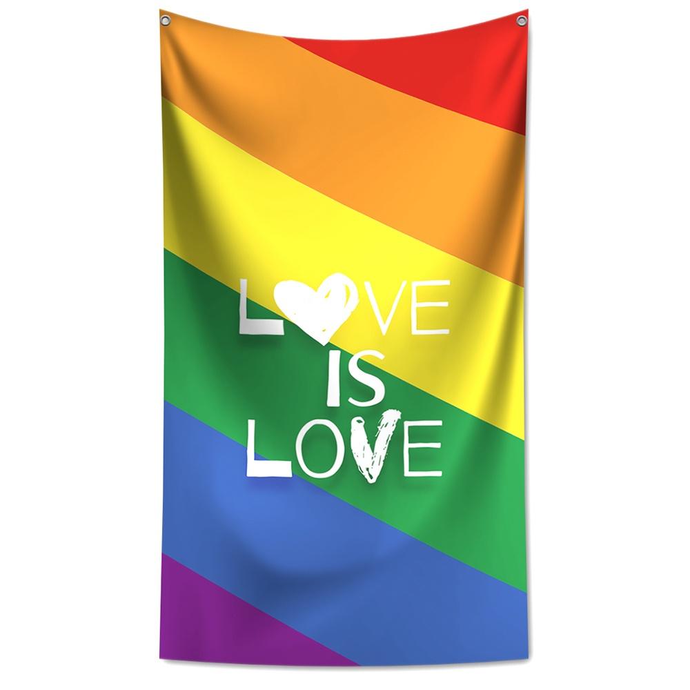 Panô Decorativo Love is Love - Banner