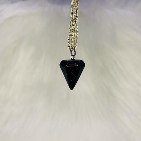 Pingente Pêndulo Pedra Estrela