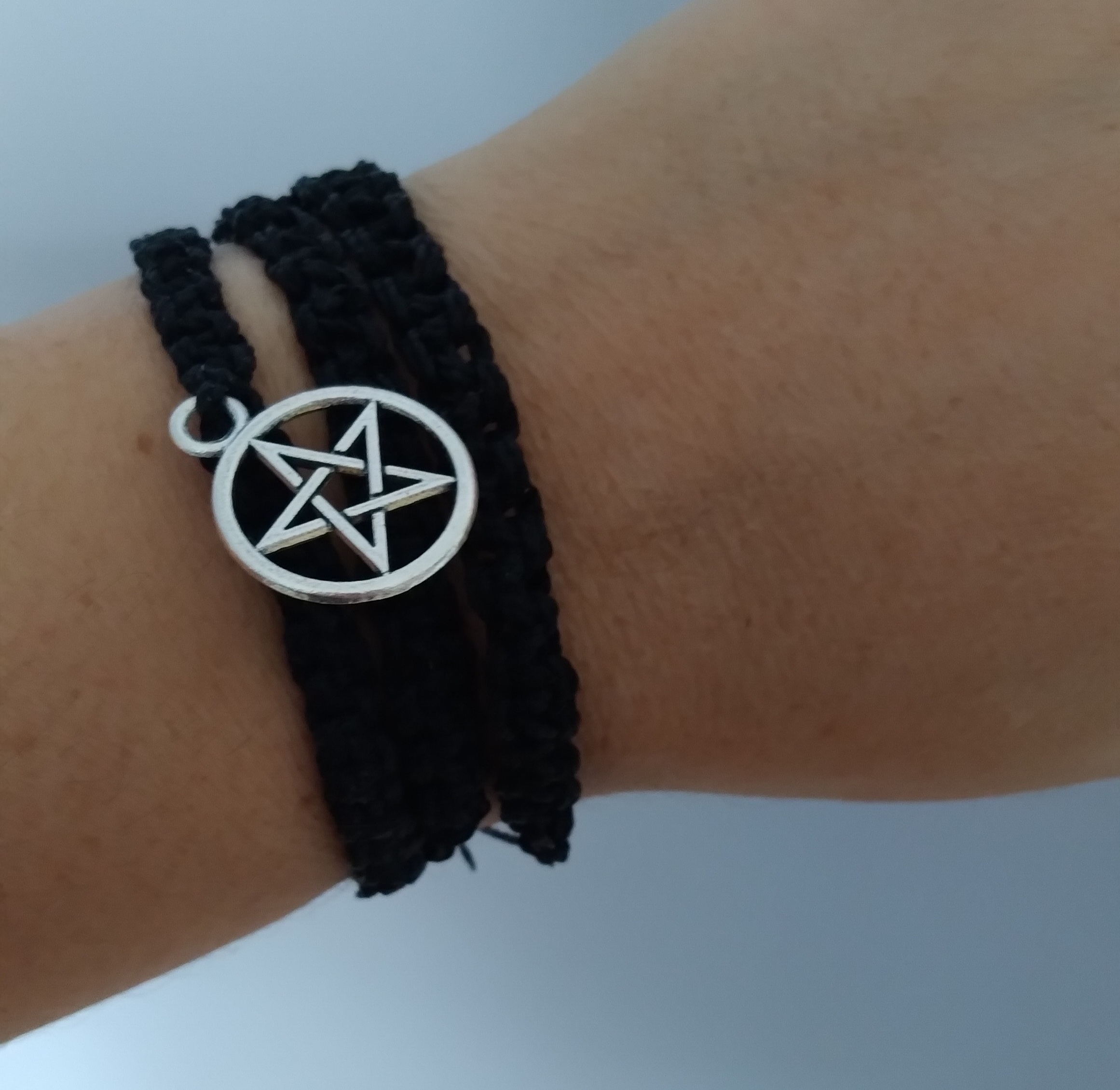 Pulseira pentagrama