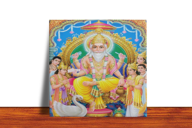Quadro Azulejo Decorativo Brahma - Modelo 2