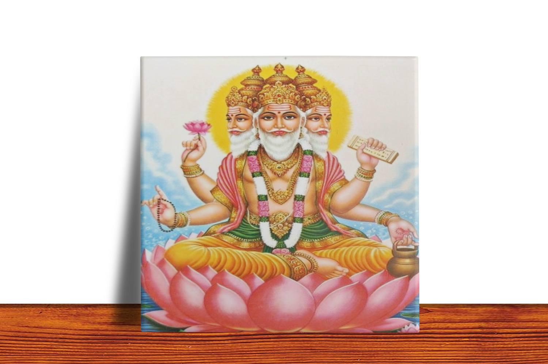Quadro Azulejo Decorativo Brahma