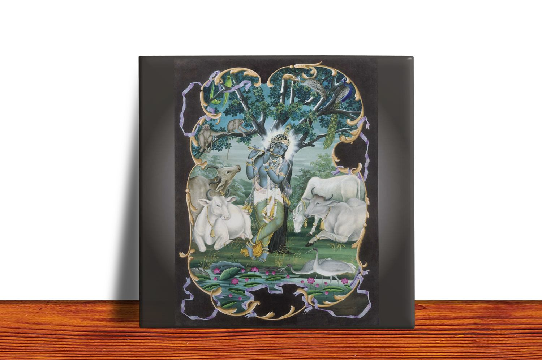 Quadro Azulejo Decorativo KRISHNA 4