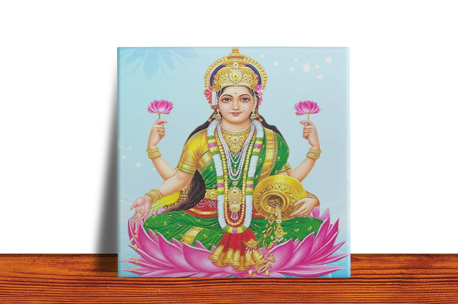 Quadro Azulejo Decorativo Lakshmi
