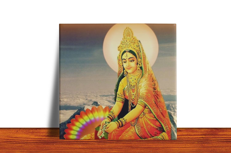 Quadro Azulejo Decorativo Parvati