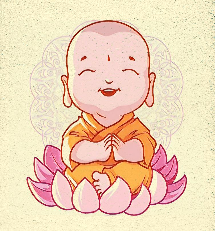 Quadro Decorativo - Mestre Buda / Budinha