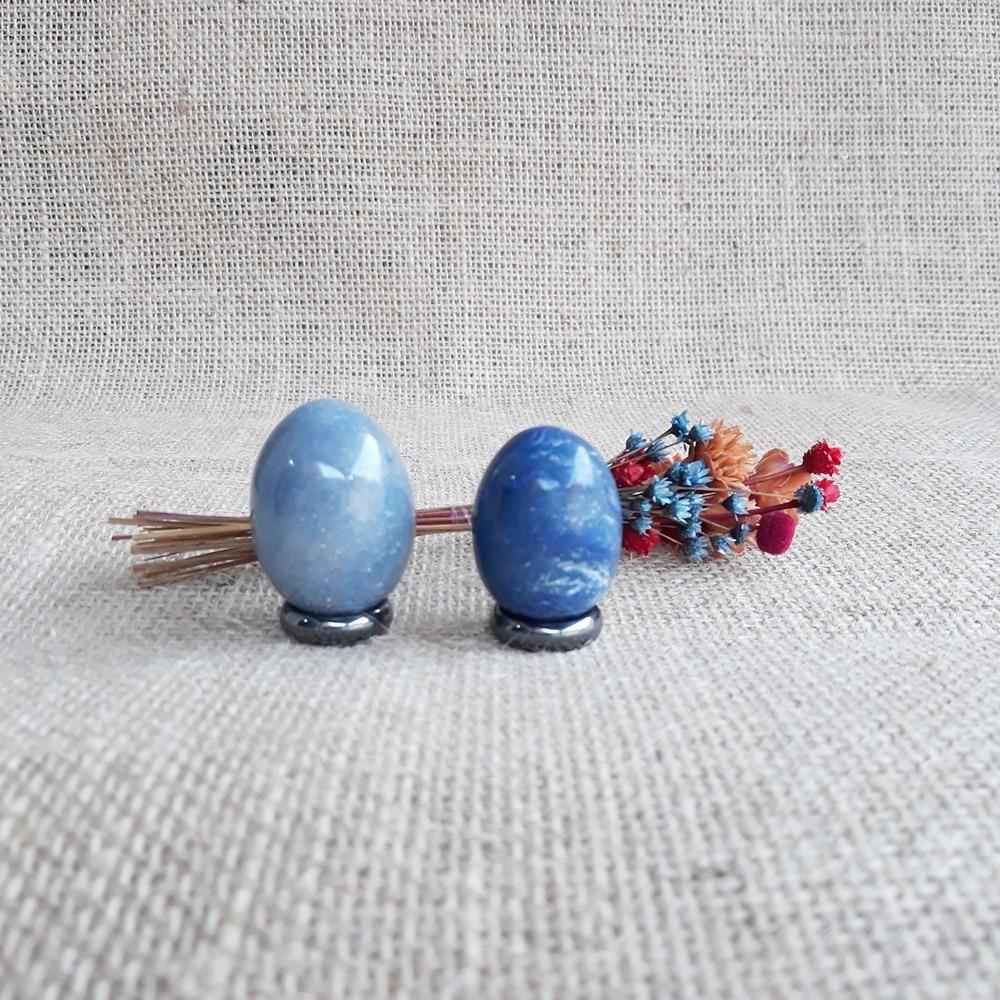Quartzo Azul Egg / Terapia de Yoni Egg - Unidade