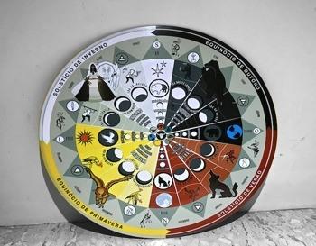 Roda  da Medicina (placa xamã)