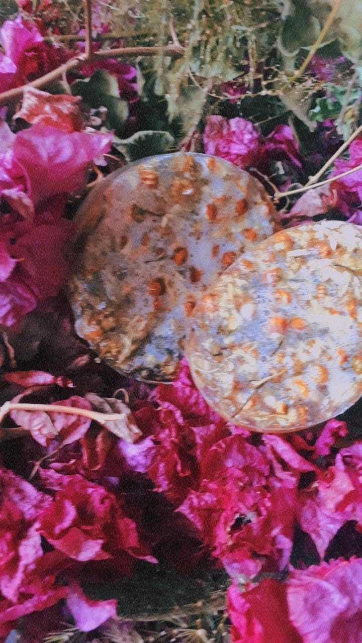 Sabonete de glicerina com Camomila
