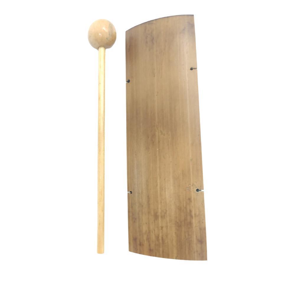 Sino Pin de Mesa em Bambu M 15cm - Harmonizador Feng Shui