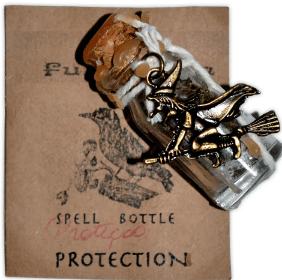 SPELL BOTTLES PROTEÇÃO (POTE DE FEITIÇO)