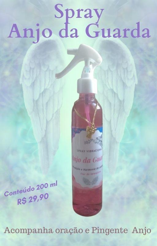 Spray Vibracional Anjo da Guarda