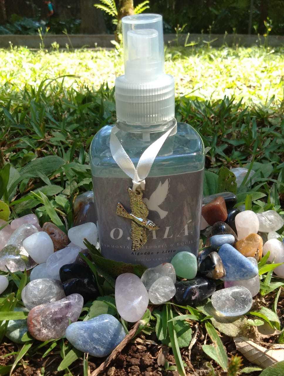 Spray Vibracional dos Orixás Oxalá+ pingente