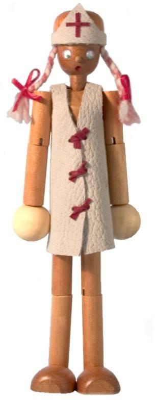 Boneca Belita Enfermeira