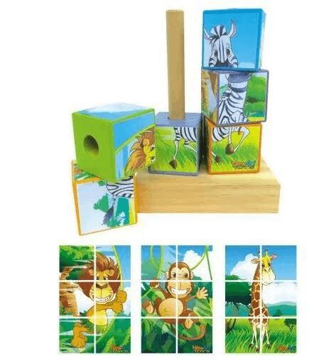 Cubos Bicharada Maluca