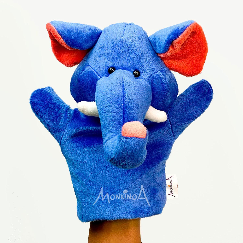 Trompete, o Elefante | Fantoche de Pelúcia Animais