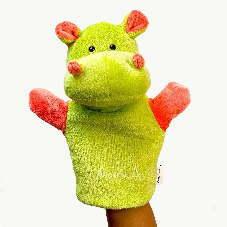 Boo, o Hipopótamo | Fantoche de Pelúcia Animais