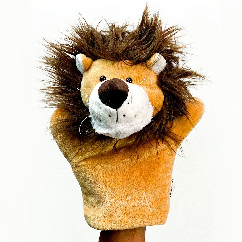 Theo, o Leão | Fantoche de Pelúcia Animais
