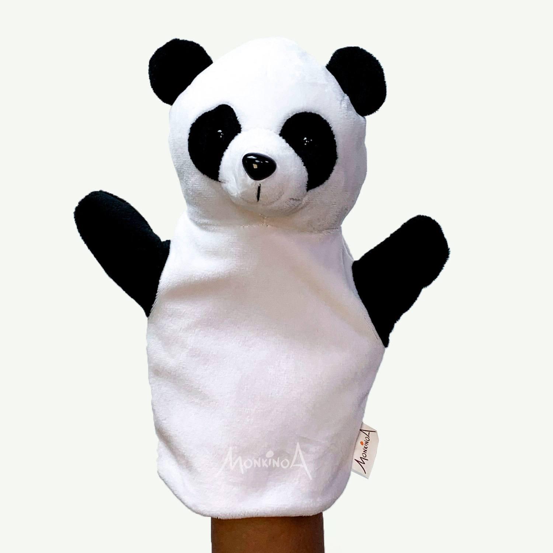 Fantoche Pelúcia Animais | PANDA: Modelo Busto
