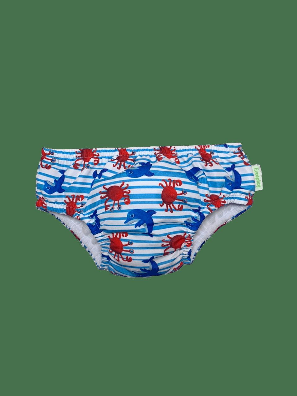 Fralda de Banho e Piscina Mar