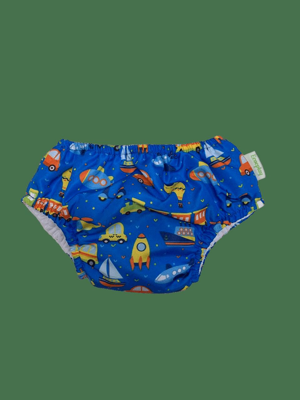 Fralda De Banho e Piscina Reutilizável ECO&PLAY Toy Azul
