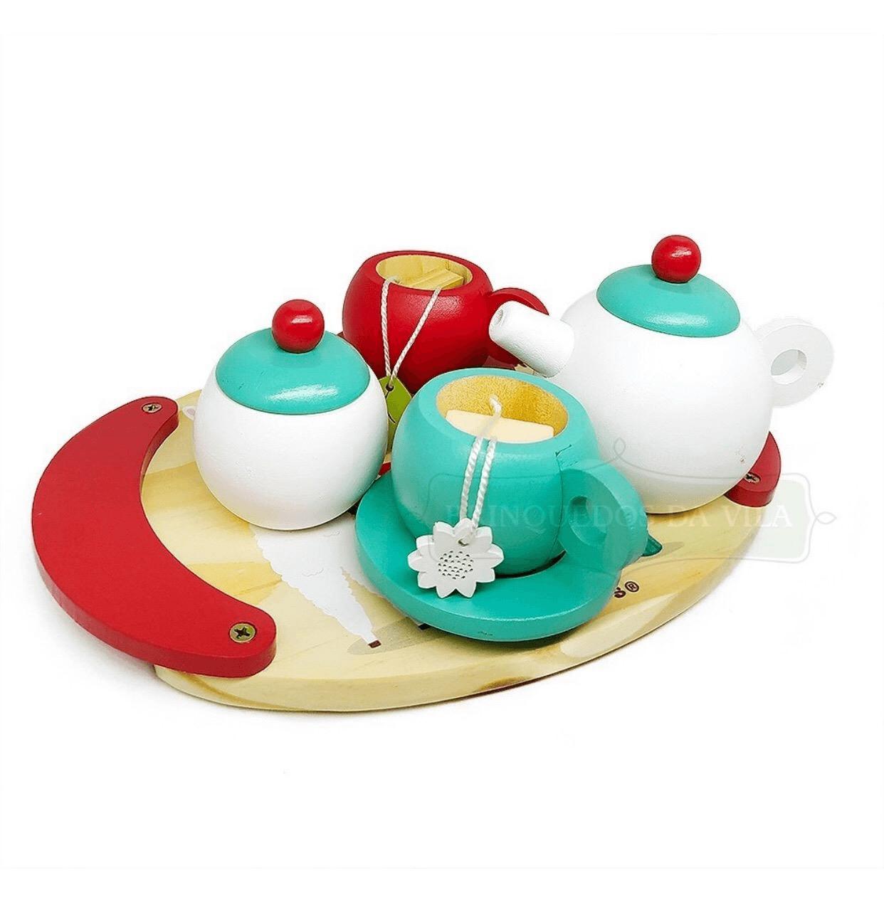 Coleção Comidinhas - Kit Chá