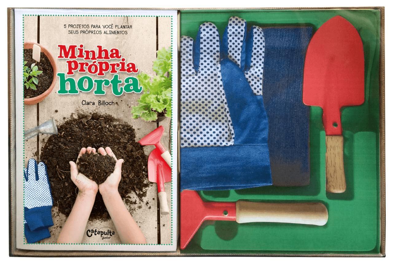 Livro Minha Própria Horta