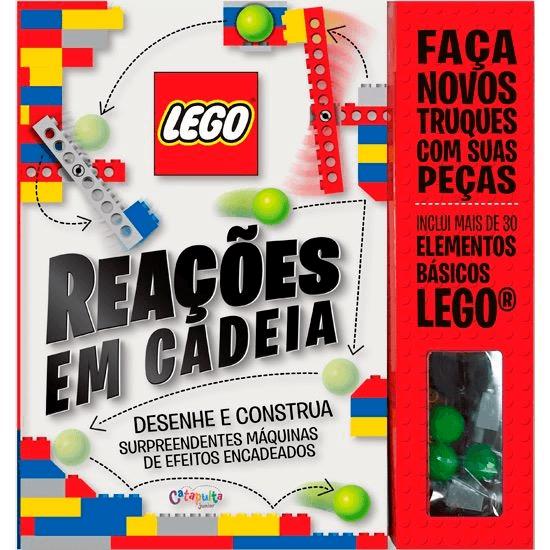 Livro Reações em Cadeia LEGO