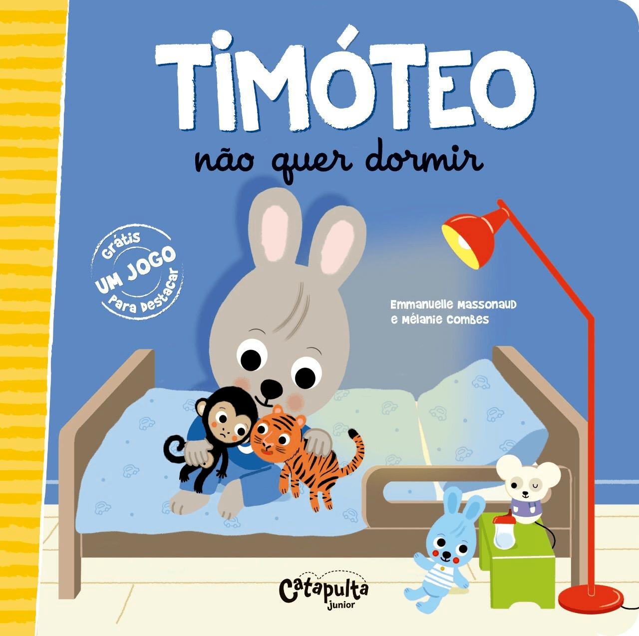 Livro Timóteo Não Quer Dormir