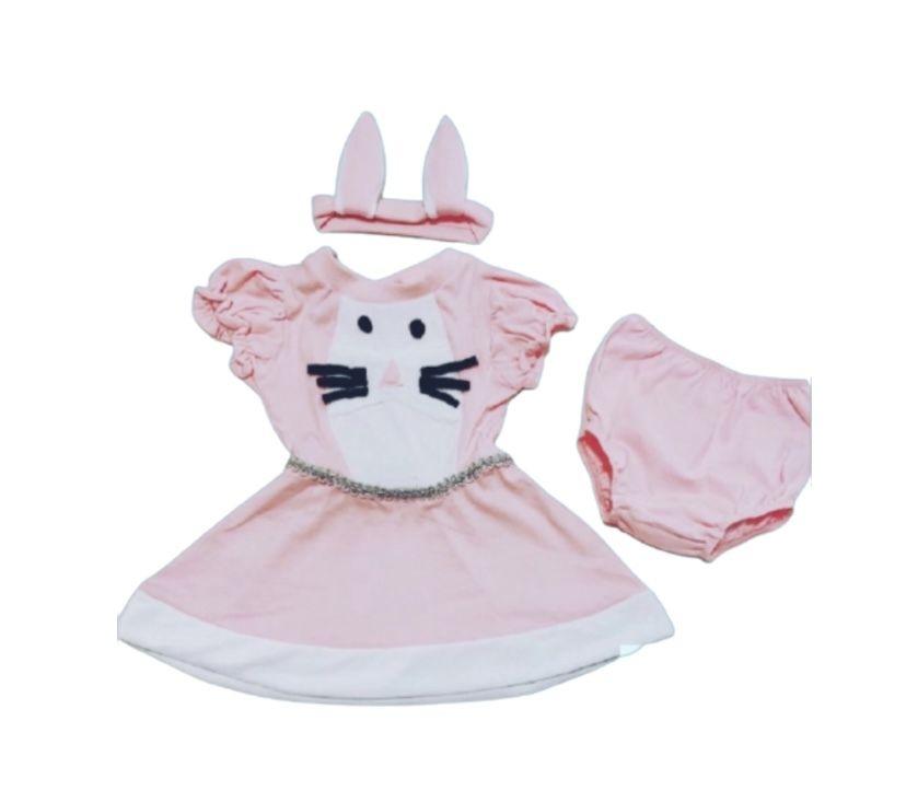 Vestido Bebê Coelhinha