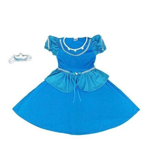 Camisola Infantil Princesa Cristal
