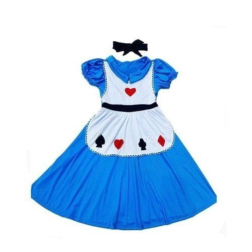 Camisola Fantasia Menina Alice