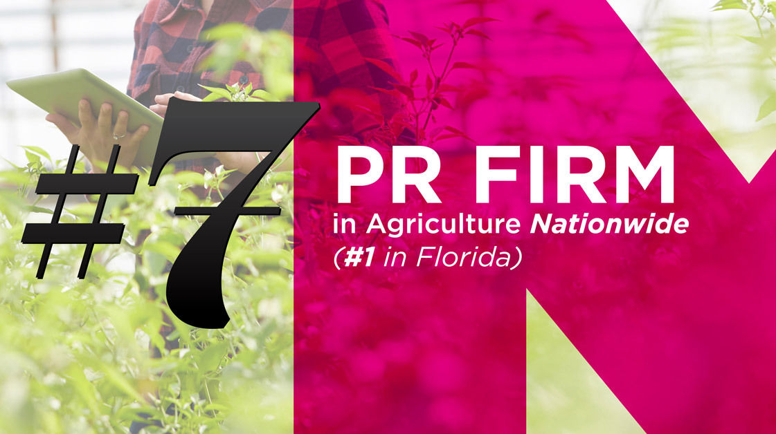#7 PR Firm in Agriculture Nationwide