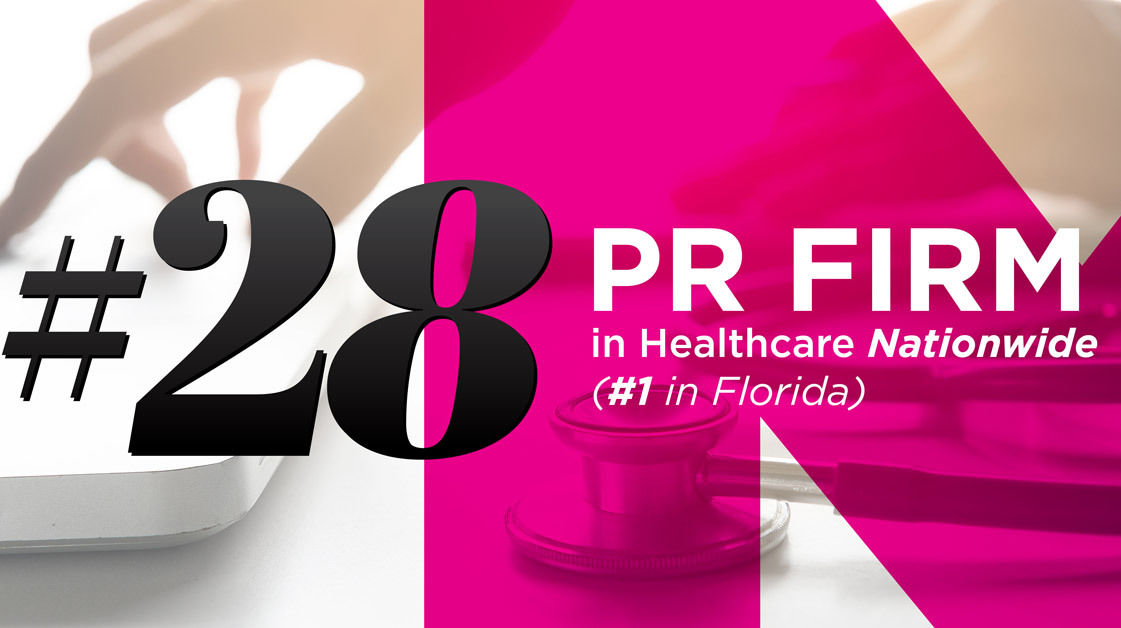 #28 PR Firm in Healthcare Nationwide