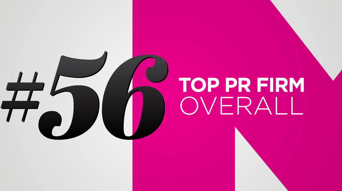 #56 Top PR Firm Overall