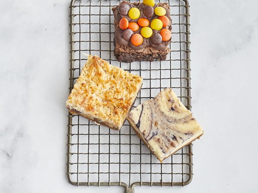 Squares Brownies Bars