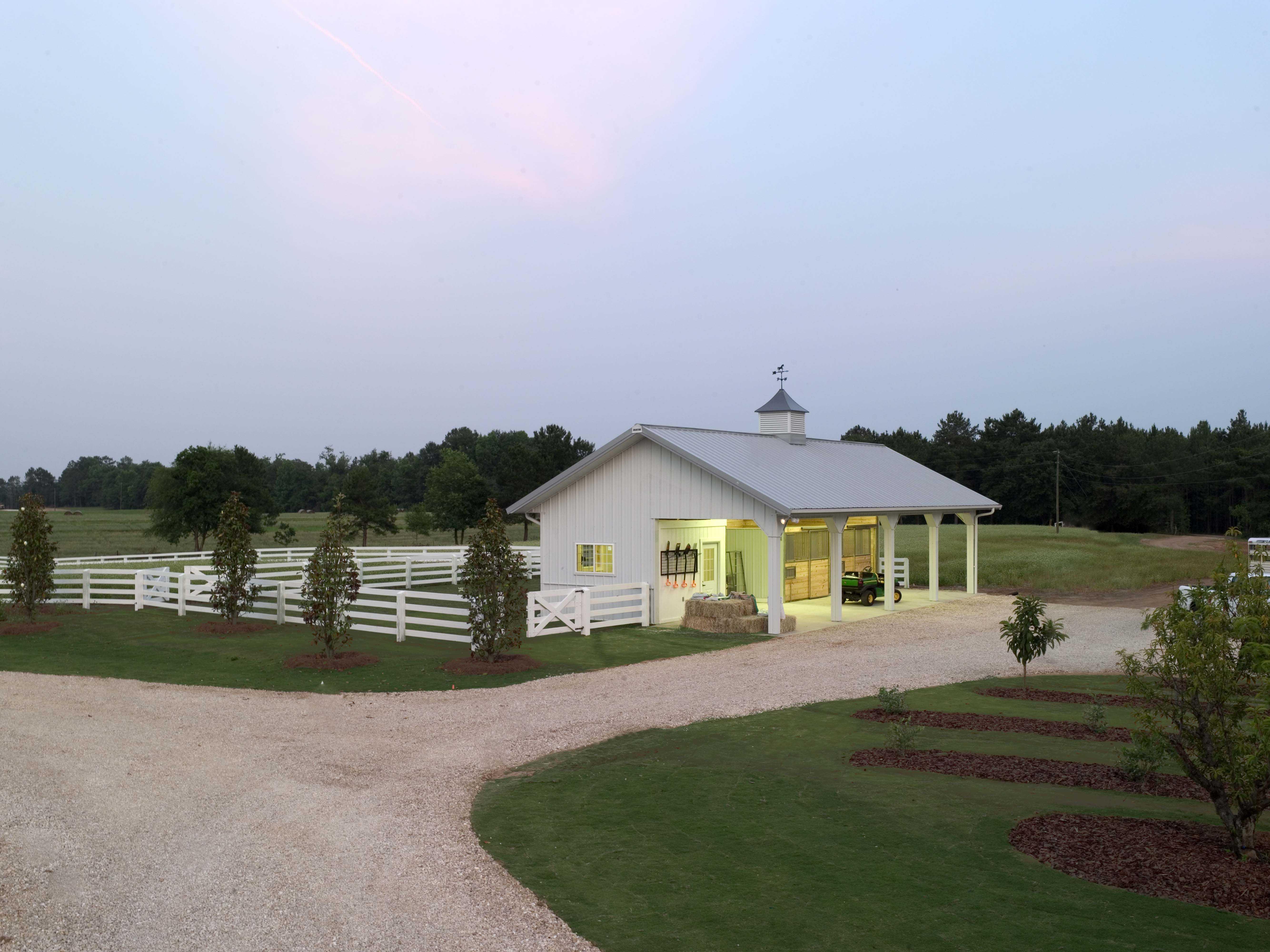 White Pence Farms Horse Barn