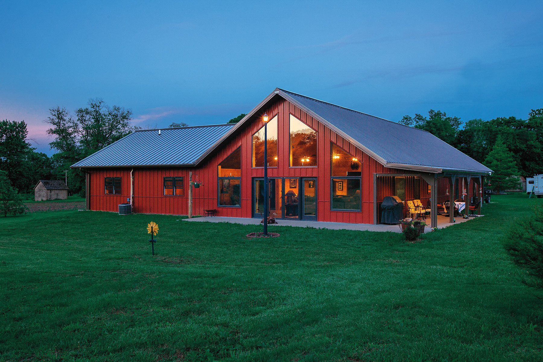 Metal Building Homes & Cabins | Steel Frame Houses by Morton