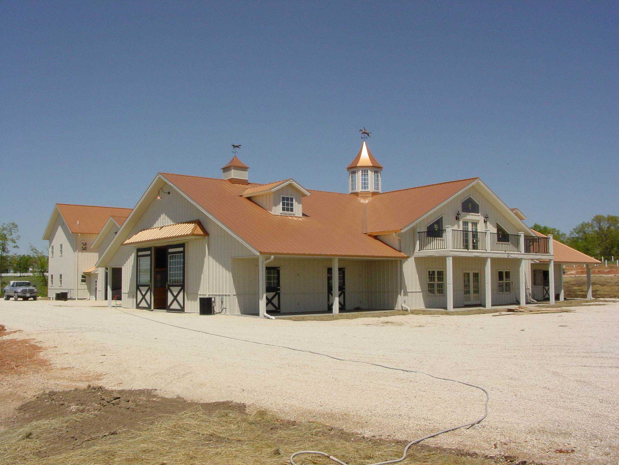 Featured Project Home Horse Barn Hobby Combo