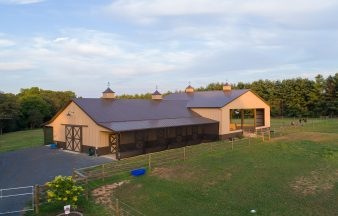 Metal Horse Barns & Stables | Horse Barn Builders by Morton