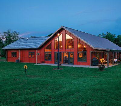 Residential Metal Steel Pole Barn Buildings Morton