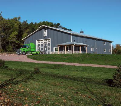Residential Metal & Steel Pole Barn Buildings | Morton