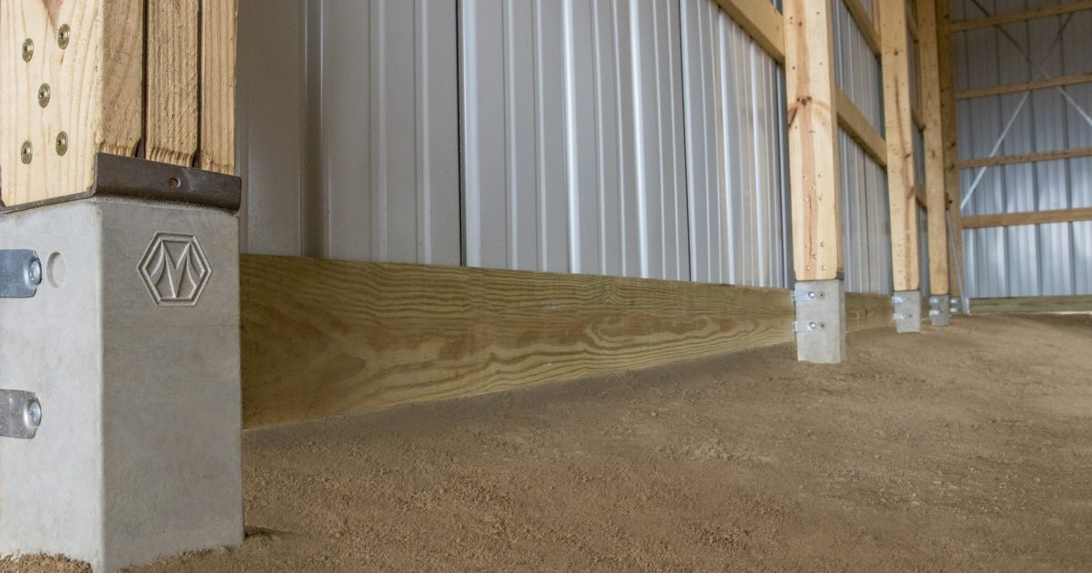 Foundation Options | Concrete Lower Columns by Morton