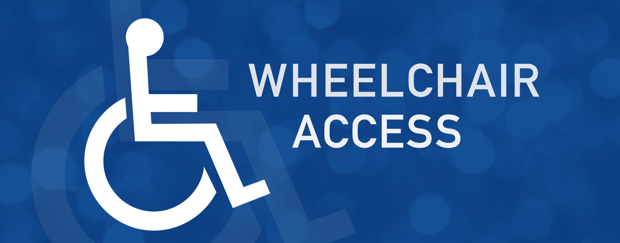 Image result for wheelchair access