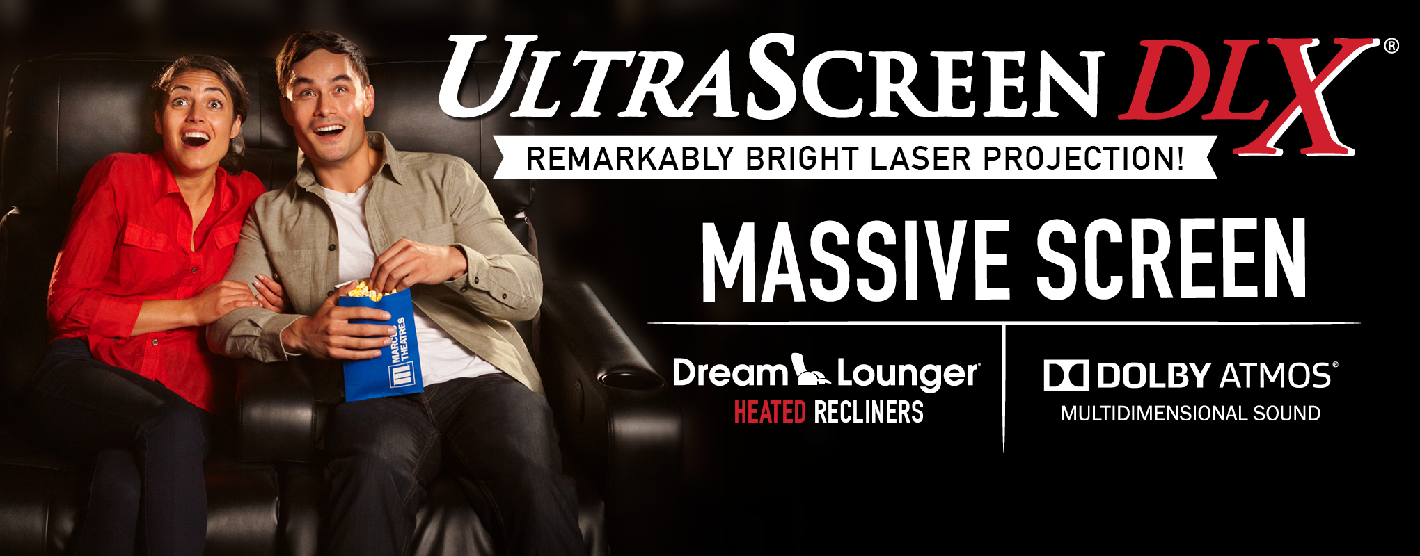 UltraScreen DLX® + Laser Projection