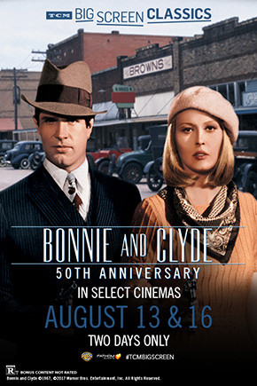Tcm: Bonnie And Clyde 50Th Annivers